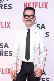 """A Manolo Caro sí le gustaría una segunda temporada de """"La Casa de las Flores"""". Netflix/Víctor Chávez."""