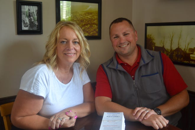 Margaret Osborne and Trevor Johnson are part of the Ottawa County Family & Children First Council, which will host Overdose Awareness Day Aug. 31 on the Ottawa County Courthouse lawn.