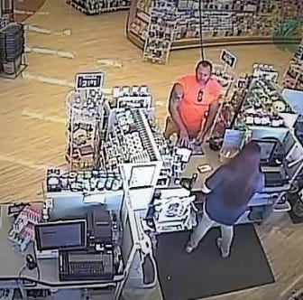 Man suspected of taking items from Rite Aid in Fairview Township.