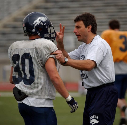 Chris Klenakis was a long-time assistant coach at Nevada