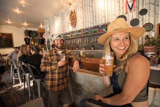 The Inclinve Village, Nev., outpost of Alibi Ale Works, on Lake Tahoe's North Shore, features a taproom and the production brewery.