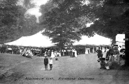 A Chautauqua was a late 19th and early 20th century venue in which adult learning courses and entertainments typically were held outdoors during summers. Glen Miller Park was a Chautauqua site.