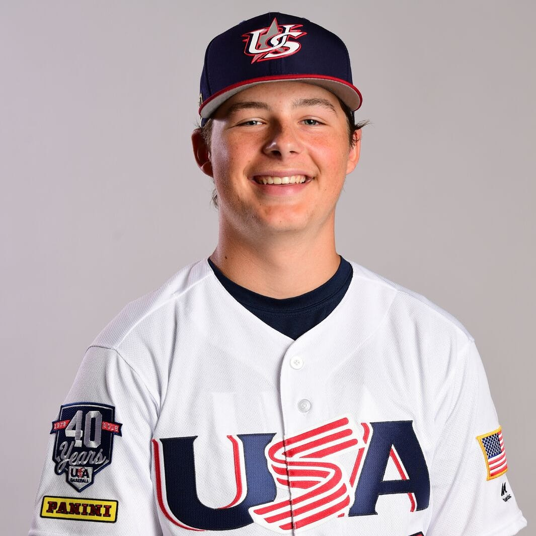 Gage Ziehl of Penfield wins gold medal with Team USA's U15 squad