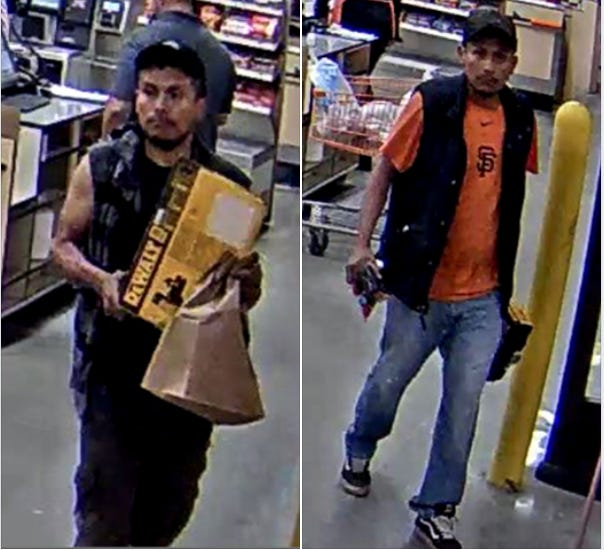 Salinas police are looking for this man, whom they suspect of stealing from locked mailboxes in North Salinas.