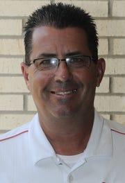 Calvary coach Rodney Guin