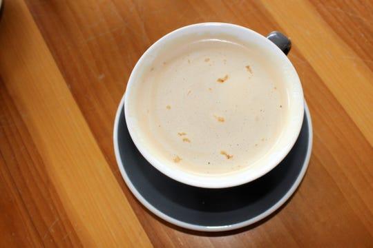 Irish Coffee cocktail available at Rhino Coffee-Downtown.