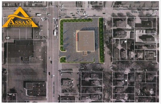 Renderings for a development near 18th and Minnesota
