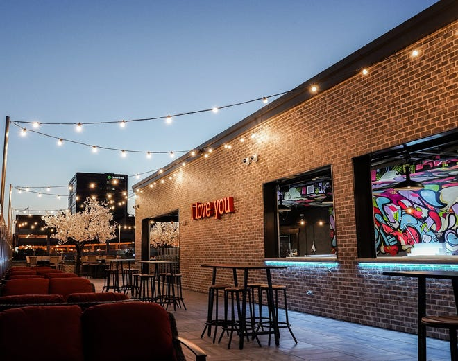 The rooftop patio at PAve opens Aug. 28.