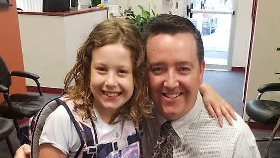 A father's love: As his daughter thrives with new heart, Republic educator promotes health