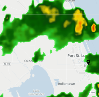 Strongest thunderstorms move offshore; boaters urges to seek safe harbor