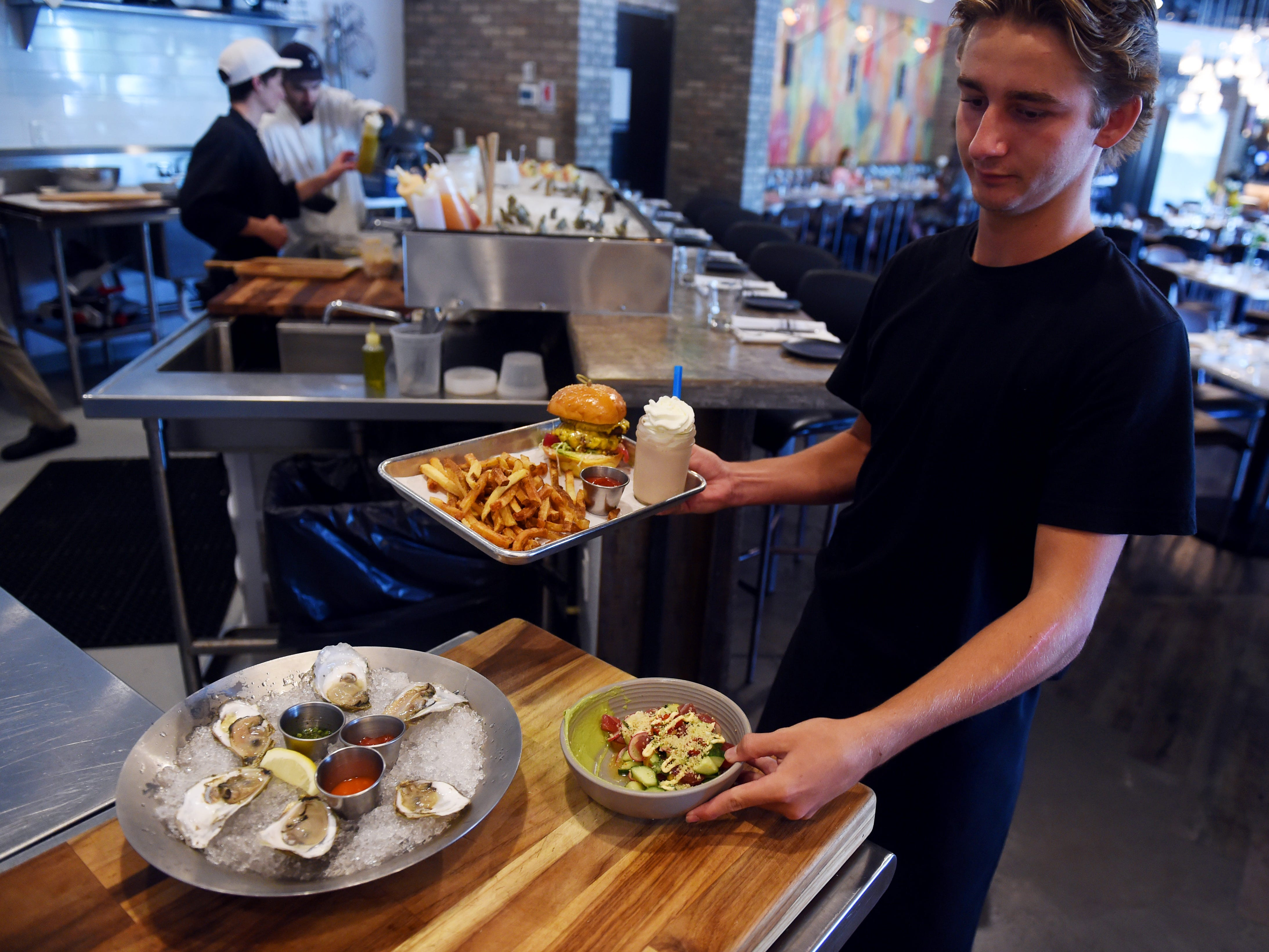 In 2013, chef Jason Stocks opened District Table & Bar in Stuart. Six years later, he doubled the size of his restaurant by moving the location to Port Salerno. District Table is a southern-focused eatery, utilizing locally sourced ingredients.
