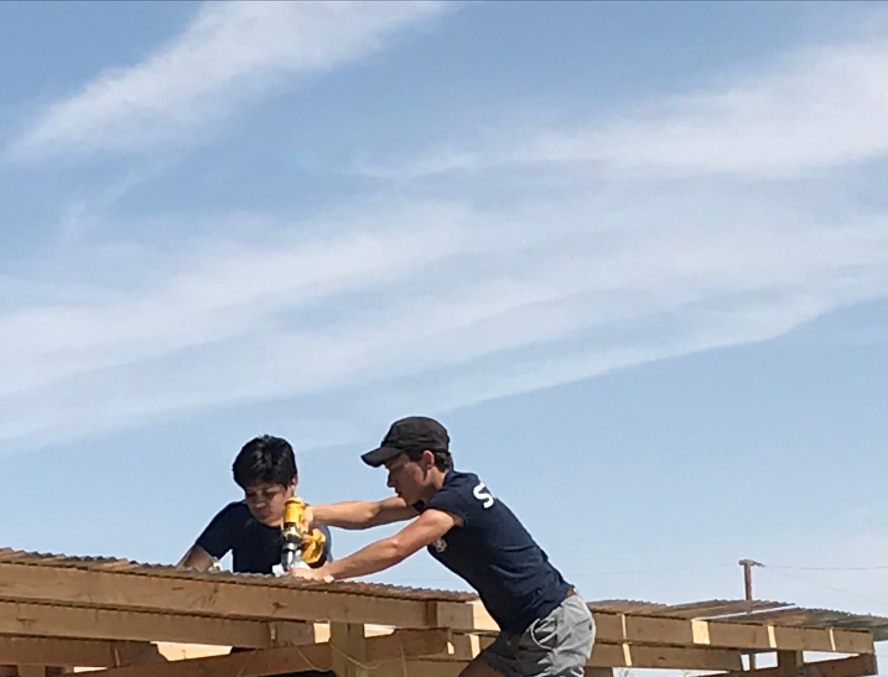 Cordero appreciates his friends from his troop and Montwood school who helped him with the project.
