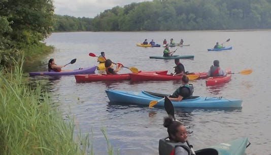 Boys & Girls Club of Vineland Kayaking 1