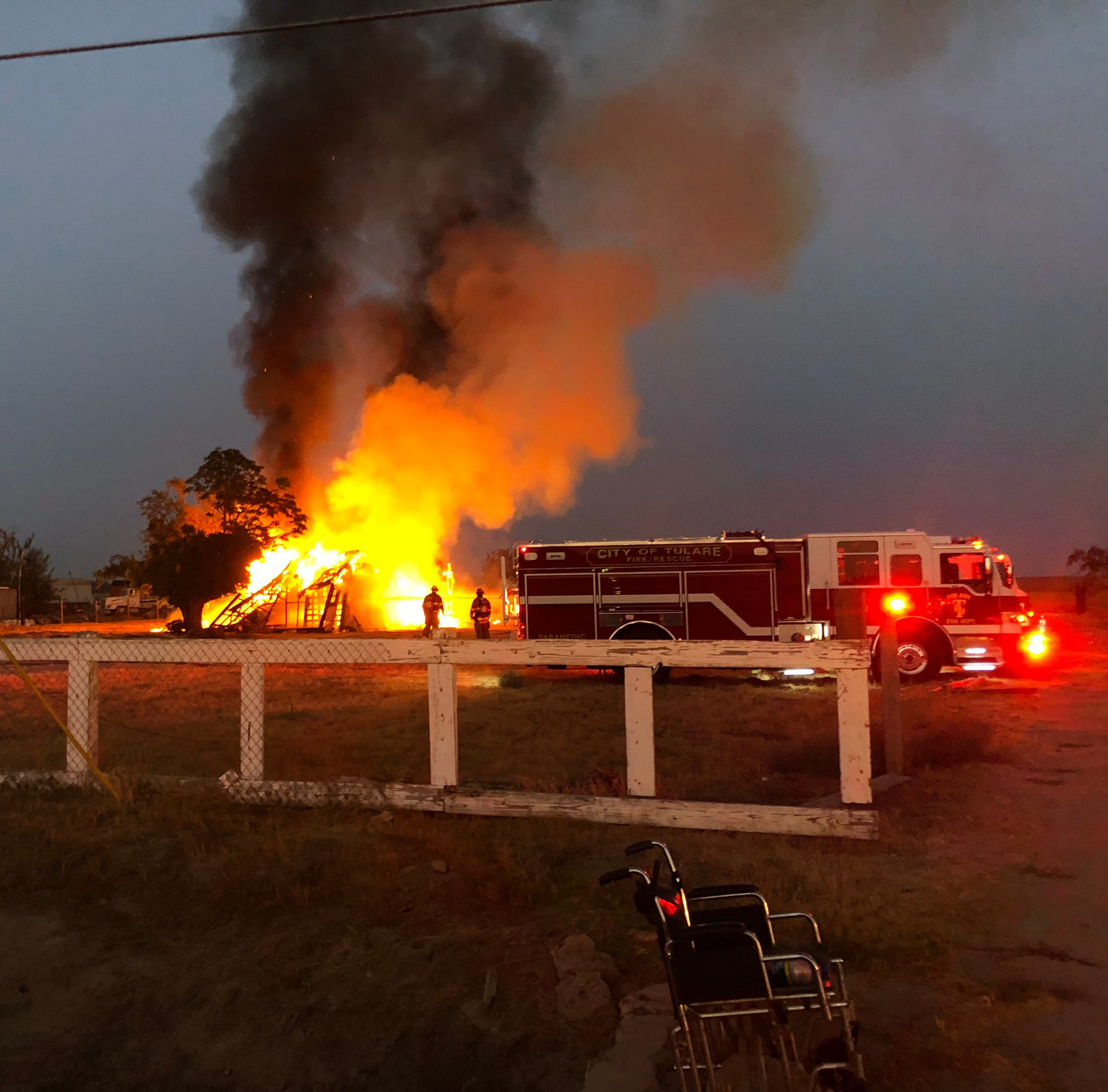 What's causing vacant Tulare homes to go up in flames?
