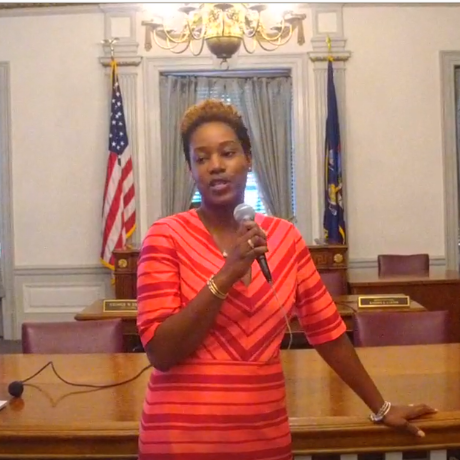 Chantelle Okarter, Mount Vernon planning commissioner and executive director of the Mount Vernon Urban Renewal Agency