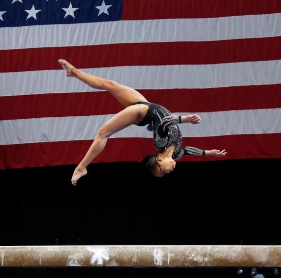 Middletown's Hurd second in nation in gymnastics, behind only Simone Biles