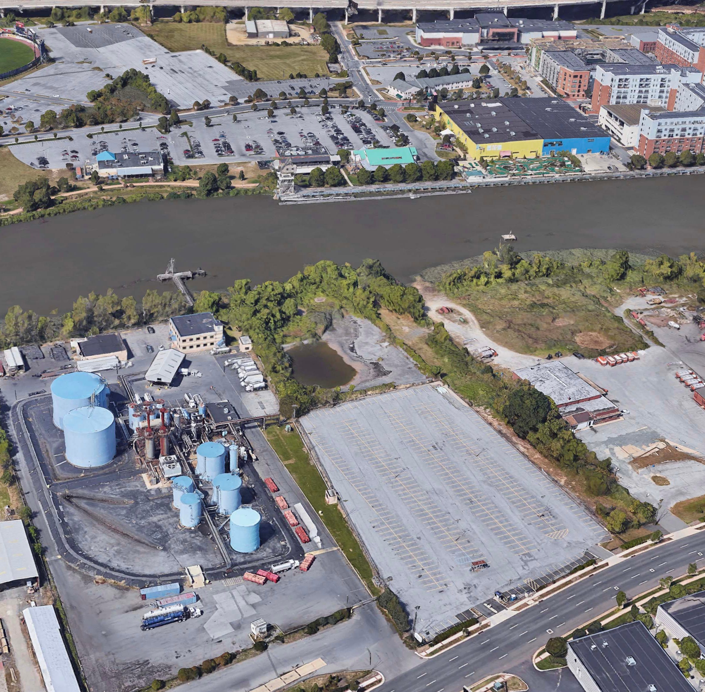 Former polluting site could offer a new development option along Wilmington's Riverfront