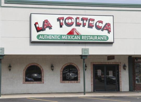 La Tolteca's previous location in Fairfax Shopping Center.