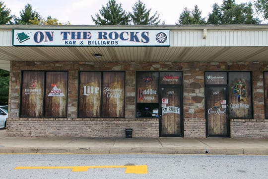 On the Rocks on Old Baltimore Pike in Newark was closed for failure to have a permit.