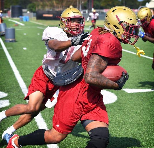 Msu Football Practice 6