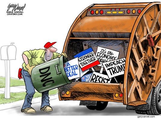 081918indywebonly Democrats Trash
