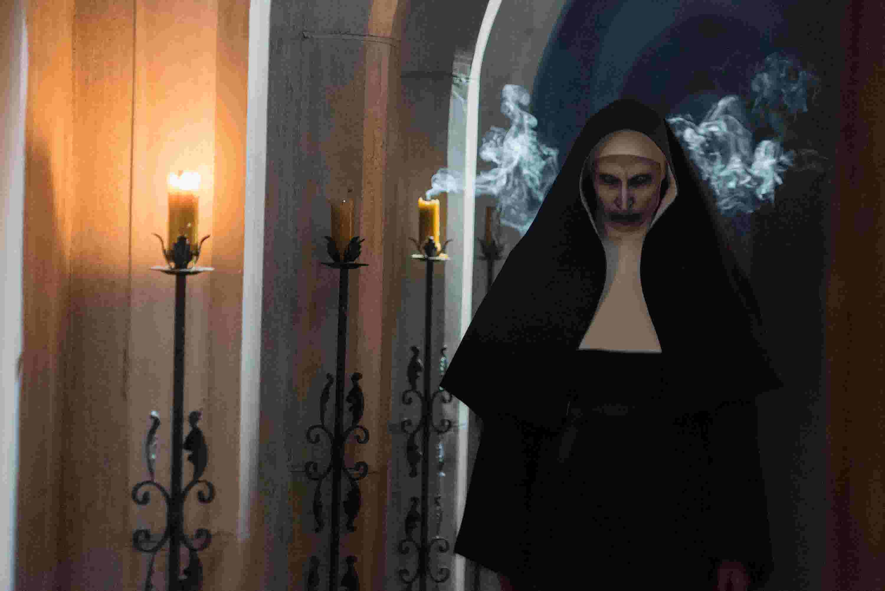 the nun is the newest haunt for conjuring horror fans