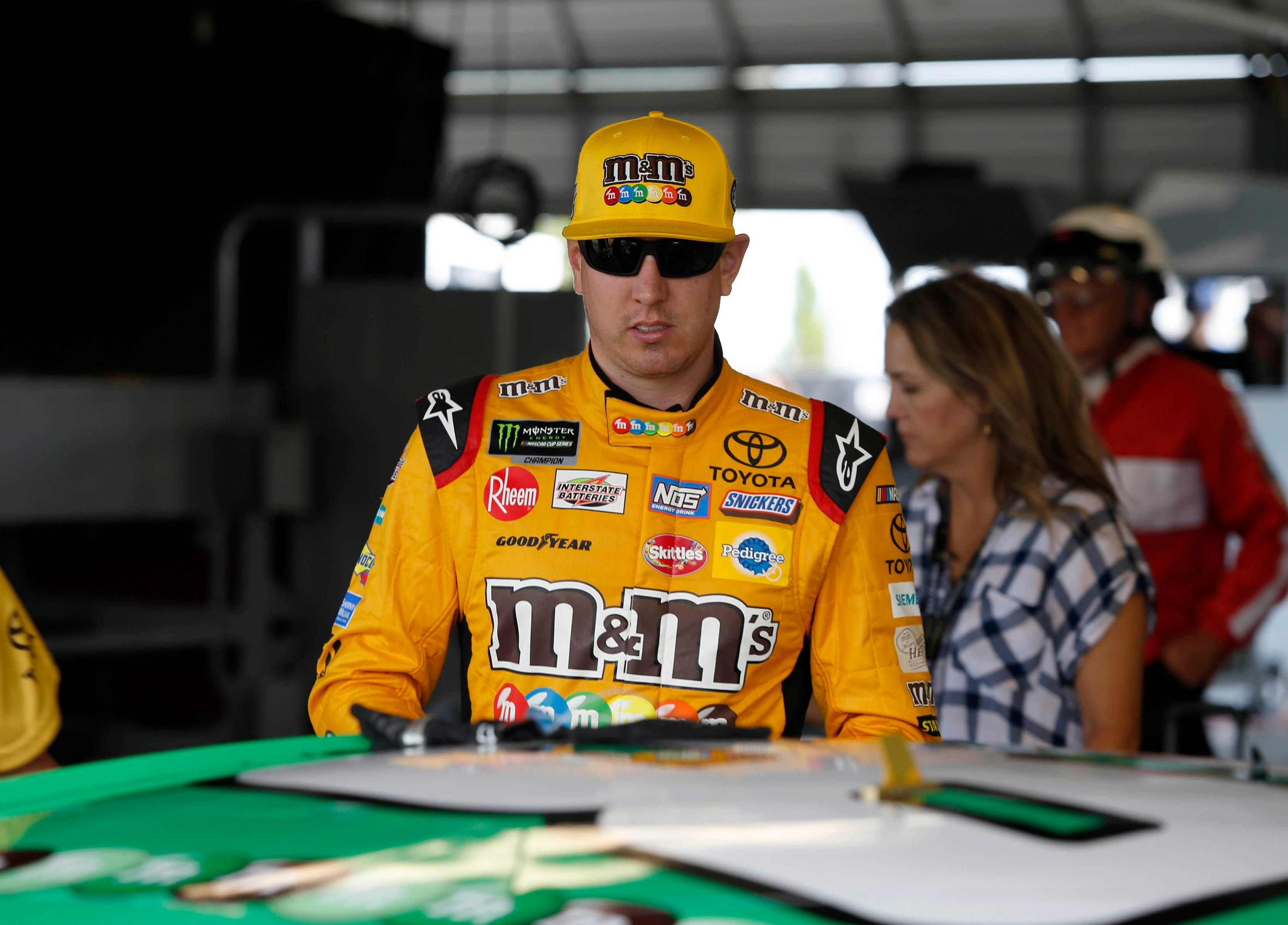 Kyle Busch confronts heckling fan in heated post-race incident
