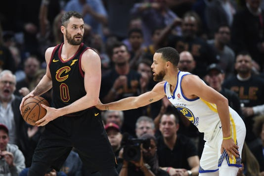 Nba Finals Golden State Warriors At Cleveland Cavaliers