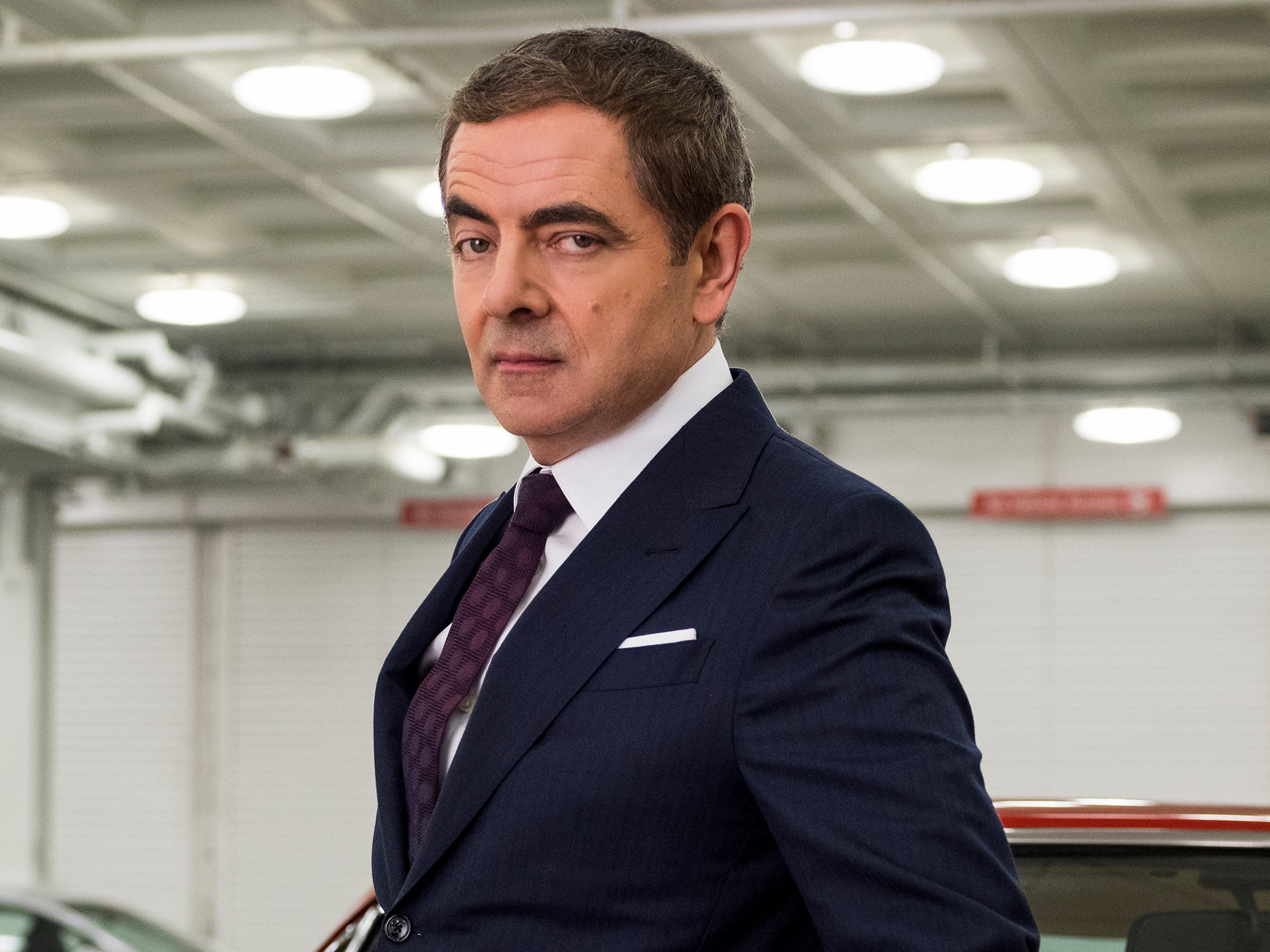"Rowan Atkinson returns as the bumbling spy – and England's last hope when all of its secret agents are outed, thanks to a cyberattack – in ""Johnny English Strikes Again"" (Oct. 26)."