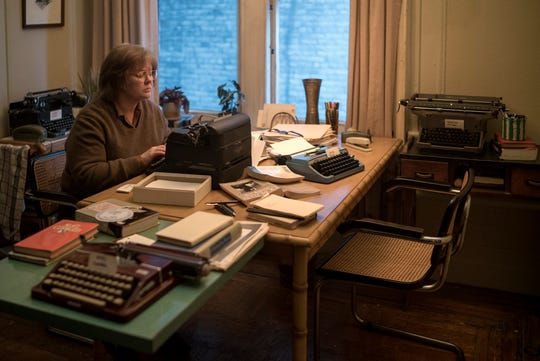 "Melissa McCarthy stars as real-life literary forger Lee Israel in the drama ""Can You Ever Forgive Me?"""