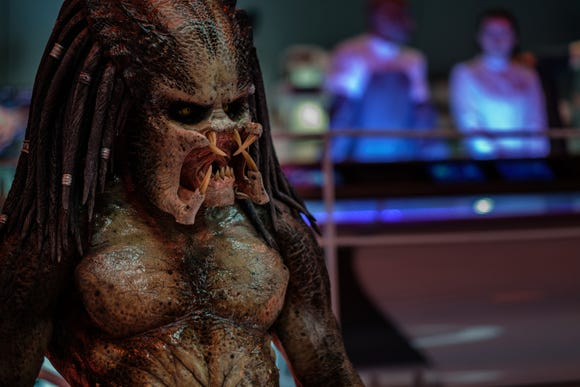 "The creature design for the new film ""The Predator"" is similar to the classic one in the 1987 original."