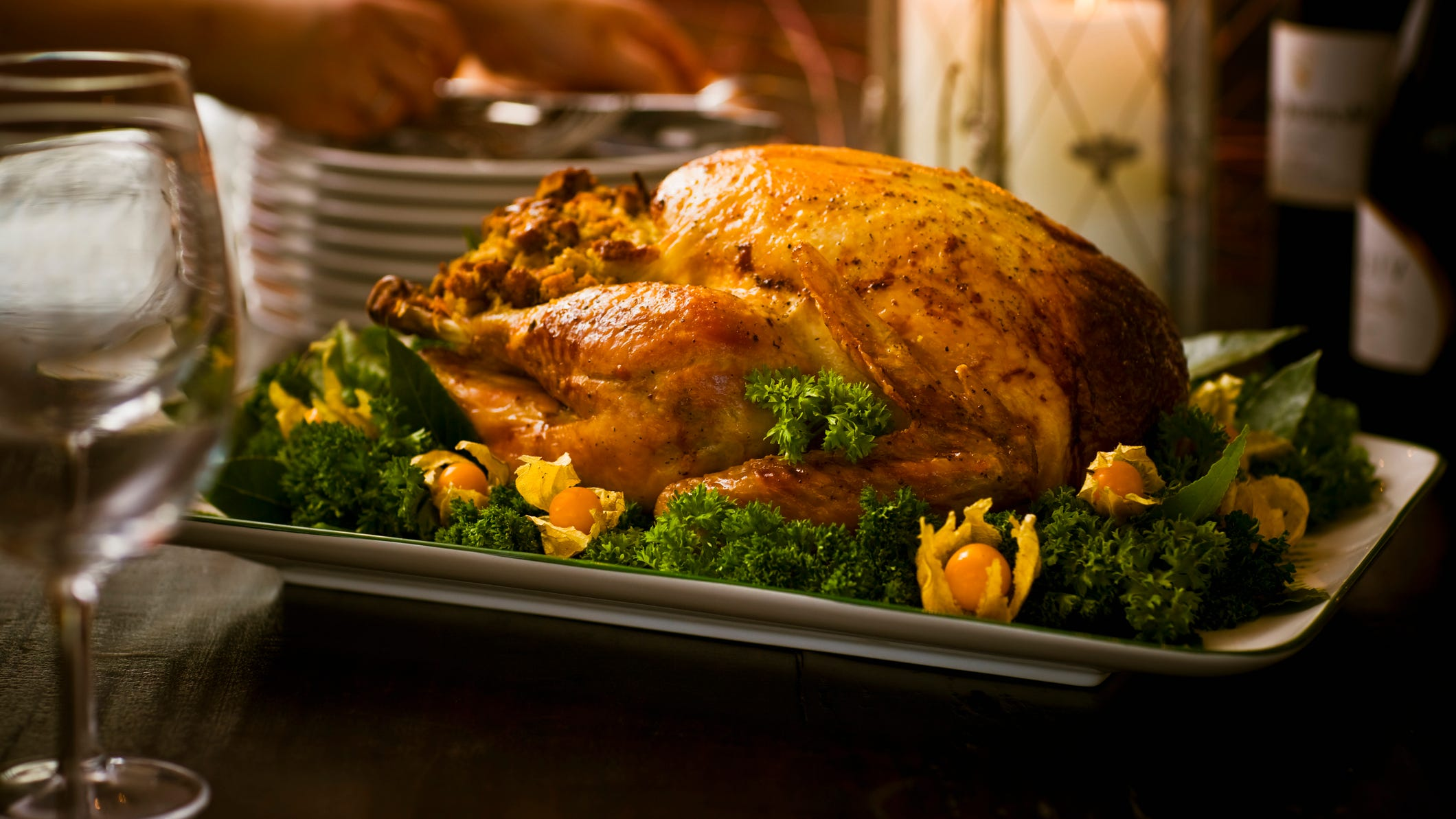 Fly out as early as you can on Thanksgiving Day and you won't miss a minute of the feast or the football game.