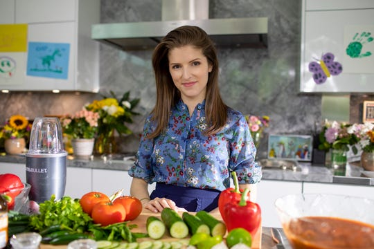 "Anna Kendrick stars as a small-town mommy blogger who investigates the disappearance of her wealthy best friend in the mystery ""A Simple Favor"" (Sept. 14)."