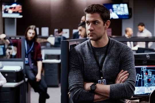 """Jack Ryan"" star John Krasinski is the latest actor to take on the Tom Clancy hero, following Alec Baldwin, Harrison Ford, Ben Affleck and Chris Pine."