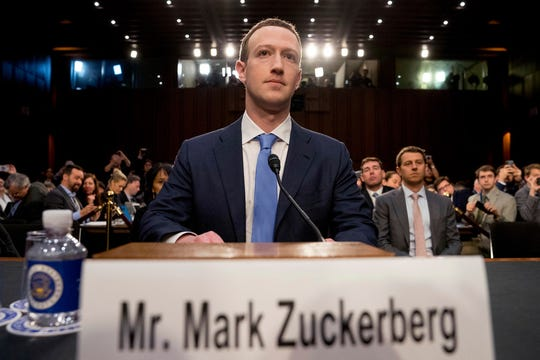 """Lawmakers often tell me we have too much power over speech,"" Facebook CEO Mark Zuckerberg said recently, ""and frankly I agree."""