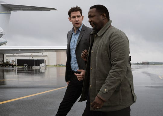 "The chemistry between John Krasinski (left) and Wendell Pierce has been so good that the ""Jack Ryan"" brain trust is focusing on their characters' relationship in Season 2, now filming in South America."
