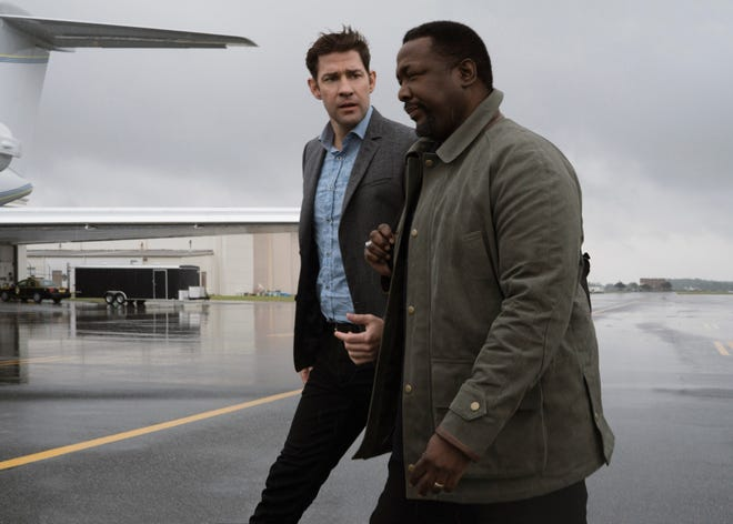 """The chemistry between John Krasinski (left) and Wendell Pierce has been so good that the """"Jack Ryan"""" brain trust is focusing on their characters' relationship in Season 2, now filming in South America."""