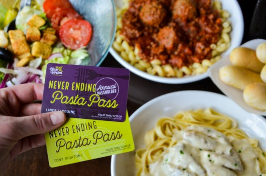 Olive Garden Pasta Pass Carb Lovers Will Have To Act Fast Thursday