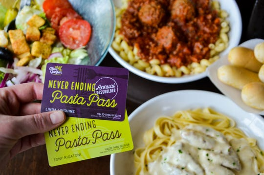 Olive Garden is bringing back its popular Never Ending Pasta Pass along with a new annual pass.