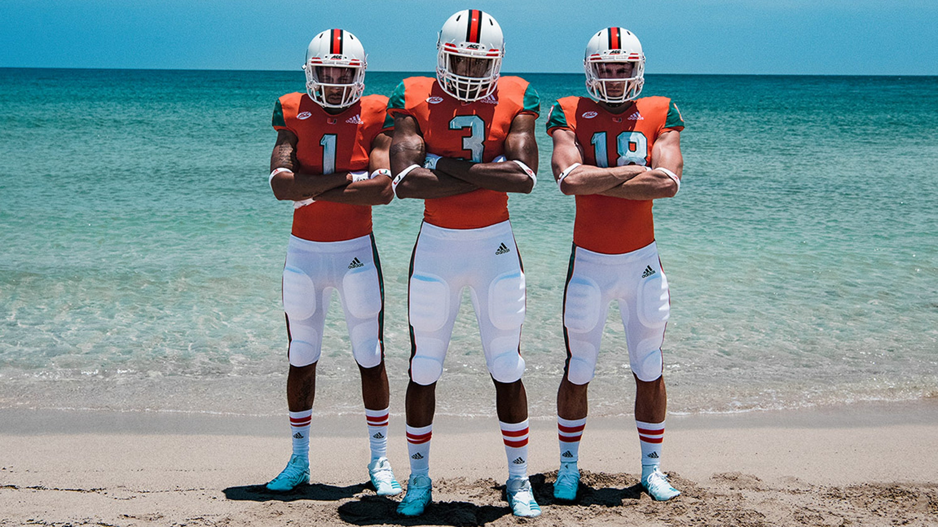 Miami Hurricanes will wear uniforms and cleats made from ocean garbage 24f200c37