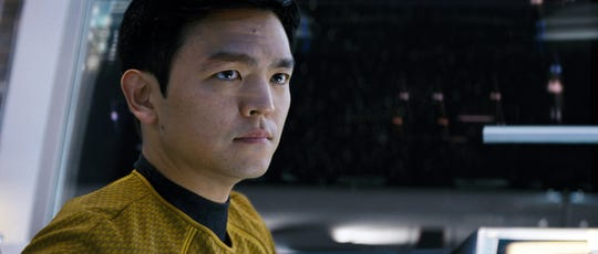 """Bring on the Sulu webcam close-up for the next """"Star Trek."""""""