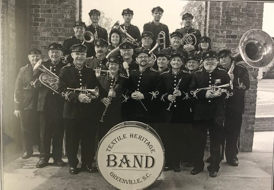 The new Greenville Textile Heritage Band
