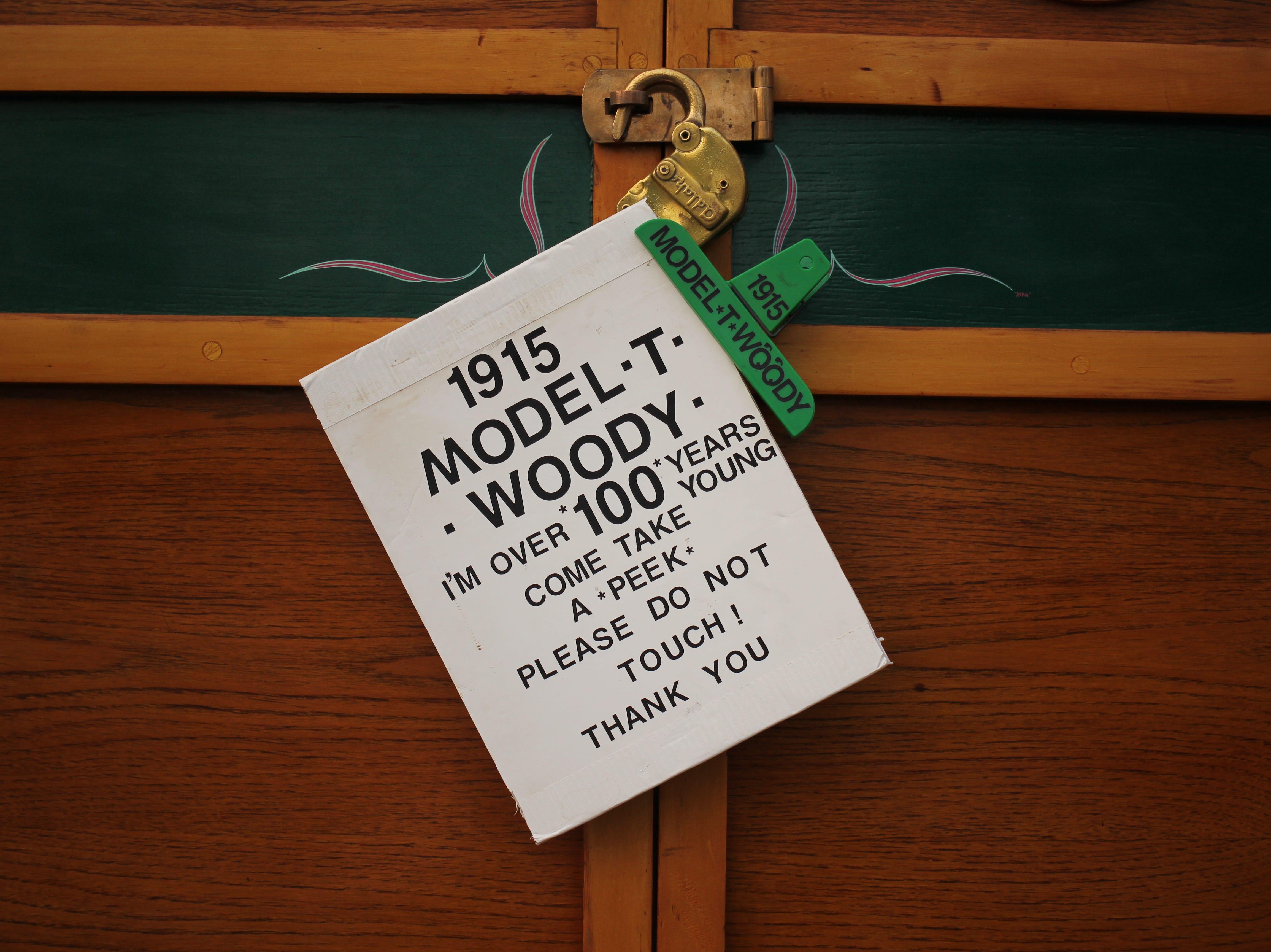 1915 Model T Woody