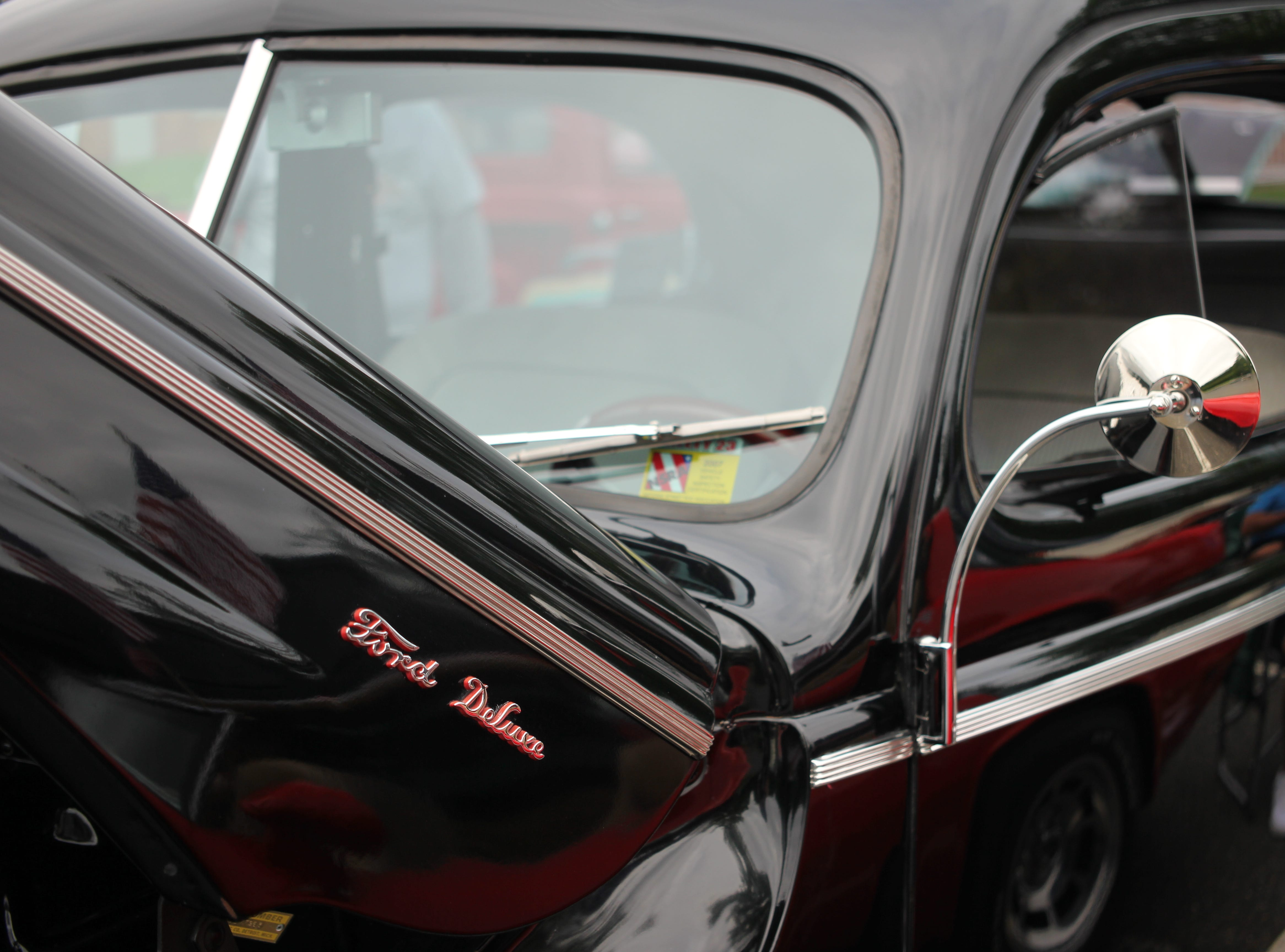 1940 Ford Tudor Deluxe, owned by Al DeLieto of Spotswood