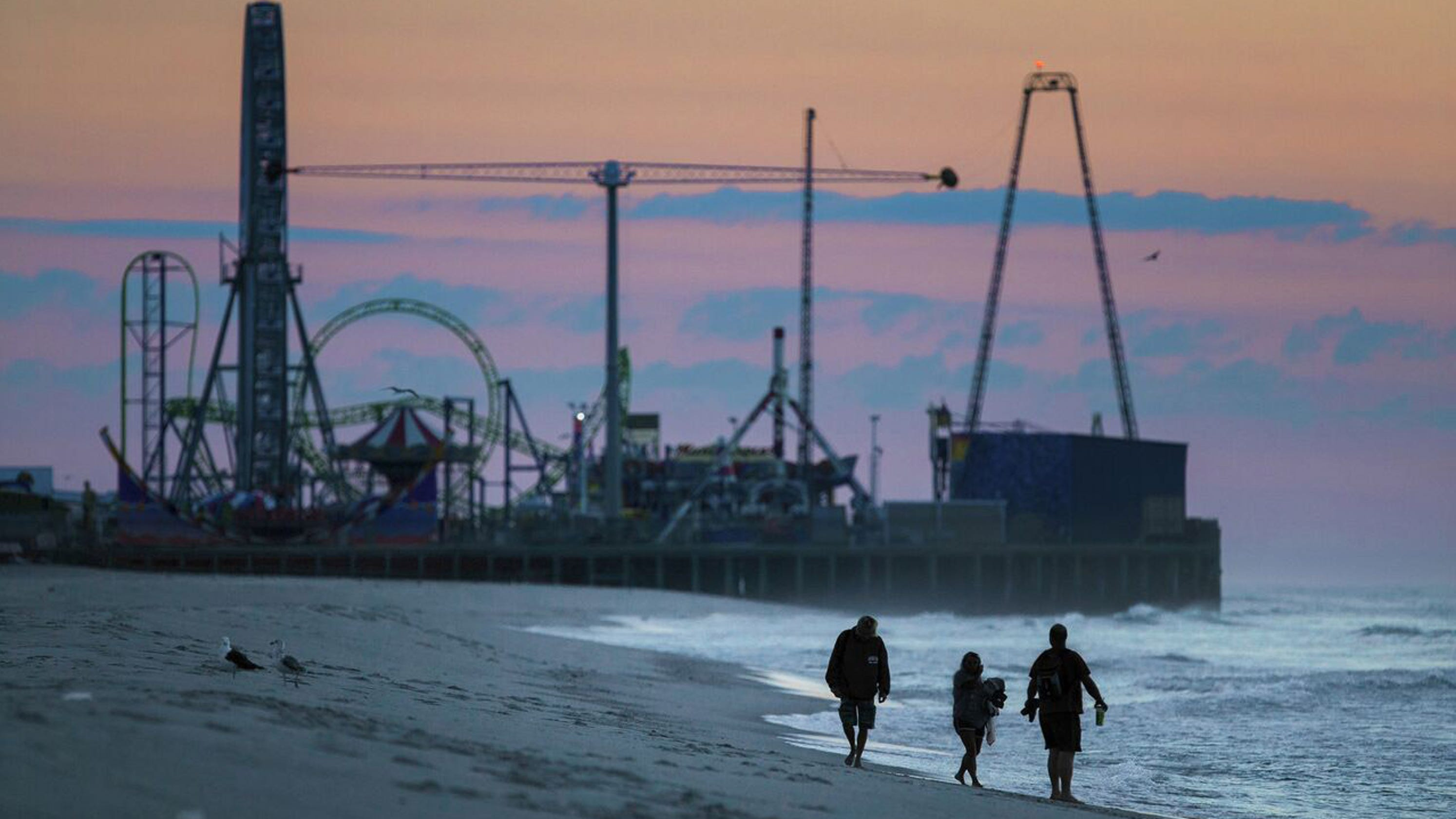 Seaside Heights Man Just 30 Yards From S When Wave Struck Wife And Son Watched