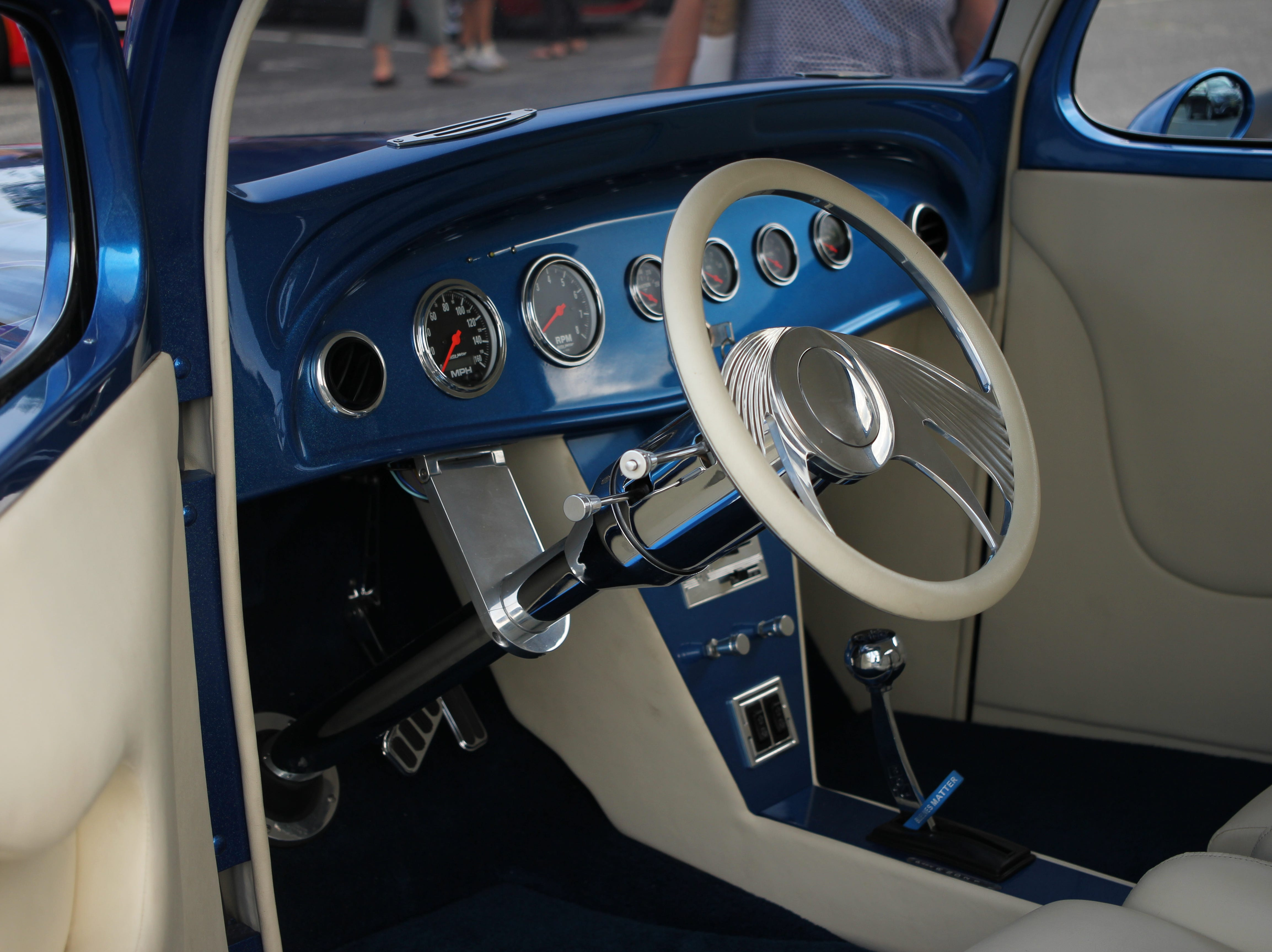The 2nd Annual Project ZERO Car Show drew more than 100 people to the Manalapan High School parking lot, where classic cars from various eras were on display.
