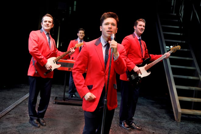 "Straight from the East Coast, it's Frankie Valli and those ""Jersey Boys,"" the kickoff show in the Broadway series in Abilene."