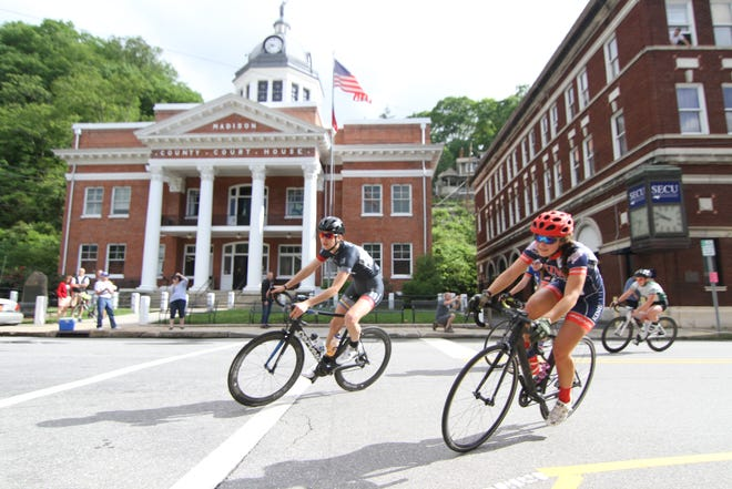 Unlike the USA Cycling collegiate championships held in Marshall in 2015 and 2016, plans to bring Cycle NC's mountain ride to Marshall in 2019 would not require road closures.