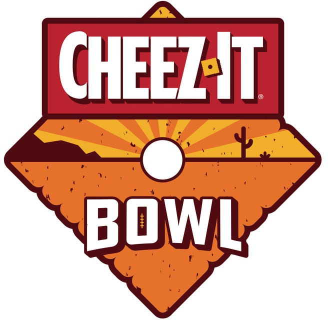 Kellogg Co. designed a new logo for newly christened Cheez-It Bowl, formerly the Cactus Bowl.