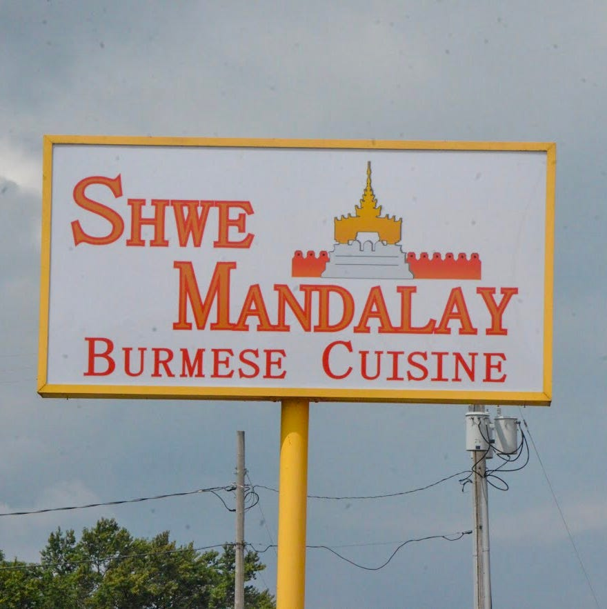 Shwe Mandalay, Battle Creek's new downtown Burmese restaurant, is now open for business